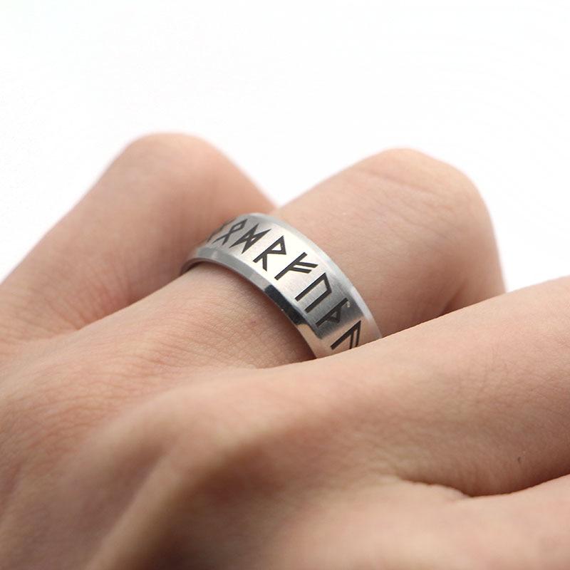 Punk Fashion Style Antique Retro Male Viking Ring