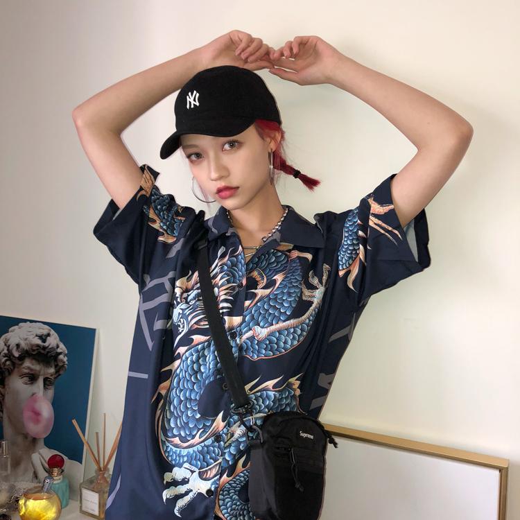 Summer Women Tops Harajuku Blouse