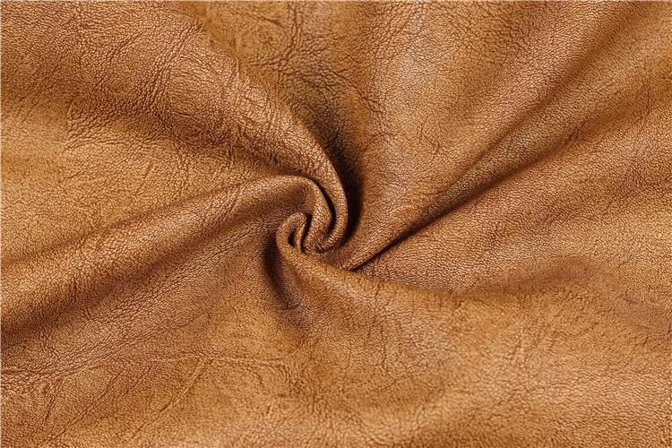Mountain Skin Men's PU Leather Jacket