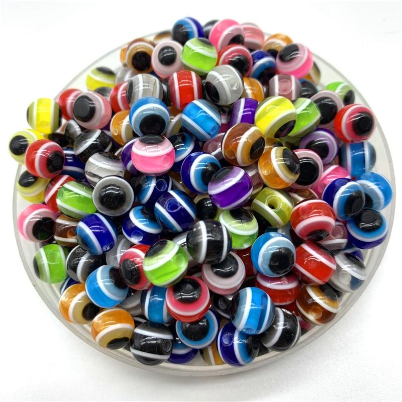 Blue Round Spacer Beads DIY