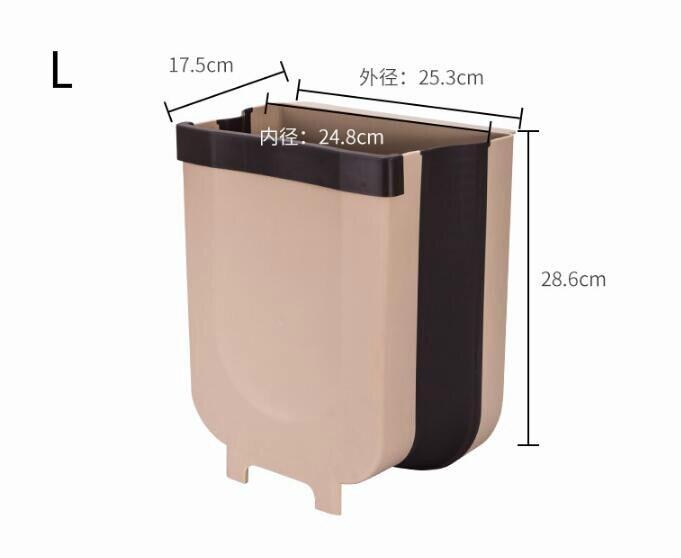 9L foldable garbage bin